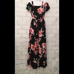 As U Wish Floral romper/dress